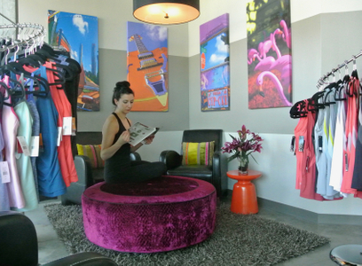 Dancers Shape Lobby with Carissa
