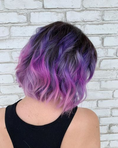 Purple Hair | Dimensional Purple | Fashion Color
