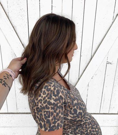 Brunette Balayage | Natural Highlights