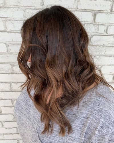 Brunette Balayage | Natural Highlights Brunette