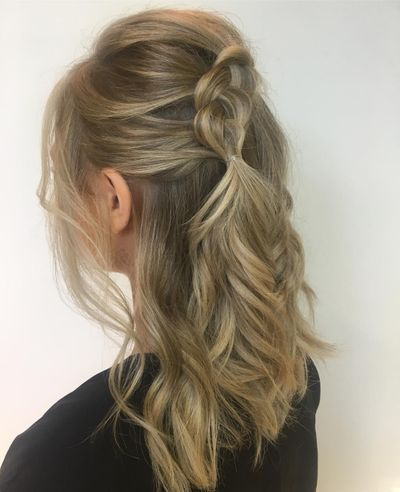 Wedding Hair | Loose Braid
