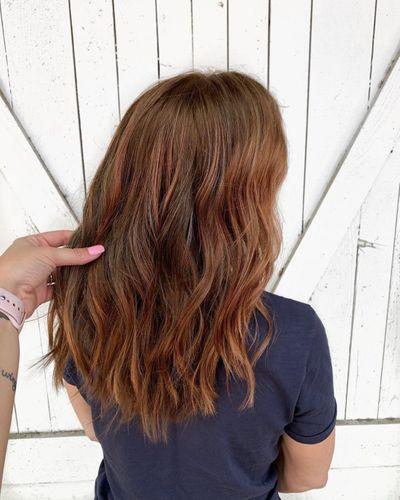 Rose Gold Brunette
