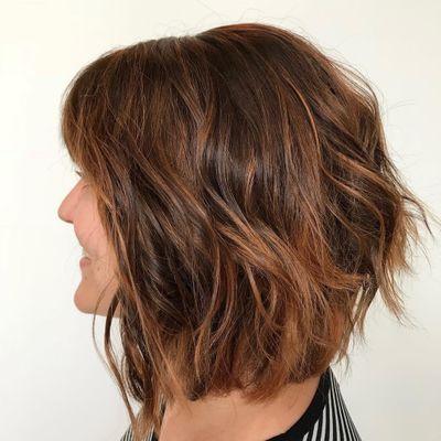 Piecey Bob | Bob Haircut | A-line Cut