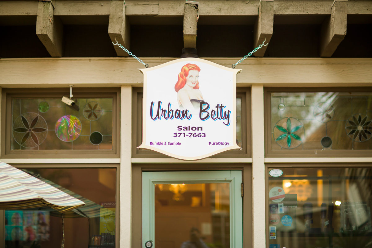Urban Betty Salon Sign