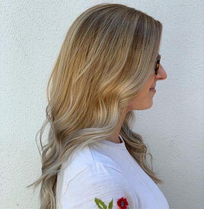 Blonde Balayage | Long Layers | Long Blonde Hair
