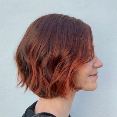 Red Hair | Bob Haircut | Red Bob