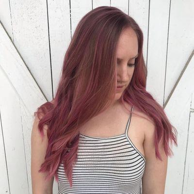 Pink Hair | Blush Pink Hair