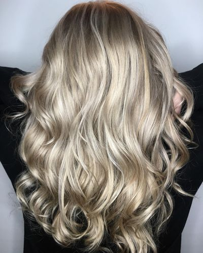 Platinum Blonde Highlights | Dimensional Blonde