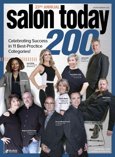 Urban Betty named Top 200 Salons in the US for 2020