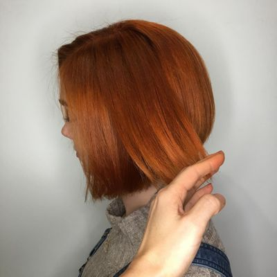 Vibrant Copper | Copper Red | Bob Haircut