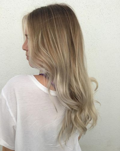Blonde Foilyage | Root Smudge