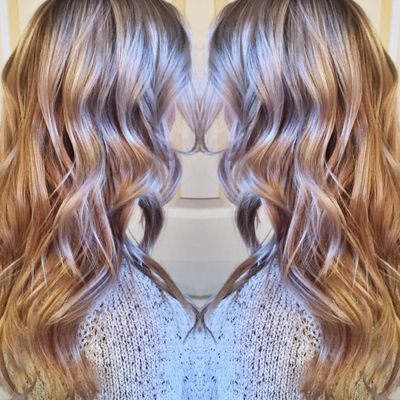 Blonde Ombre & Lowlights by Chelle at Urban Betty.jpg