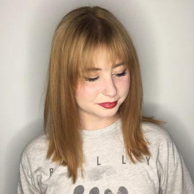 Color Correction | Golden Blonde