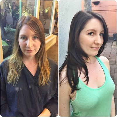 From Blonde to Brunette by Urban Betty.jpg