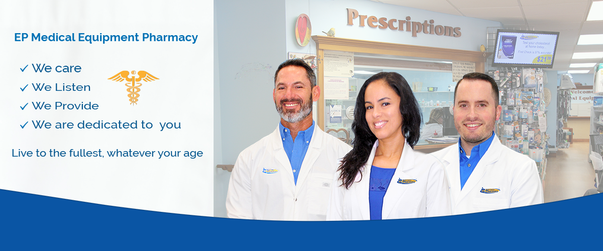 Pharmacists at EP Medical Equipment Pharmacy