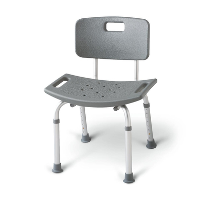 Aluminum Bath Benches with Back