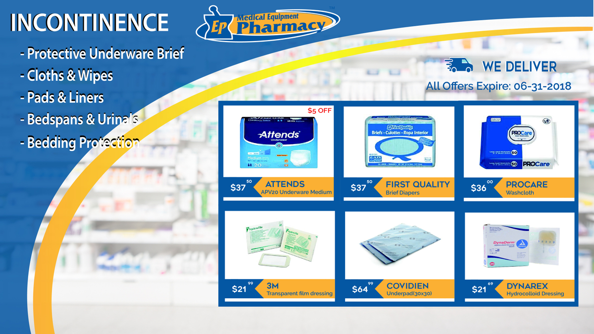Urinary Incontinence Products