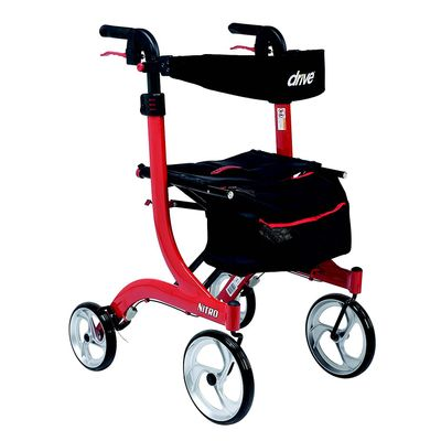 Nitro Rollator Red and Black
