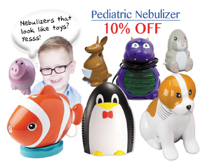 Pediatric Nebulizer 10% OFF