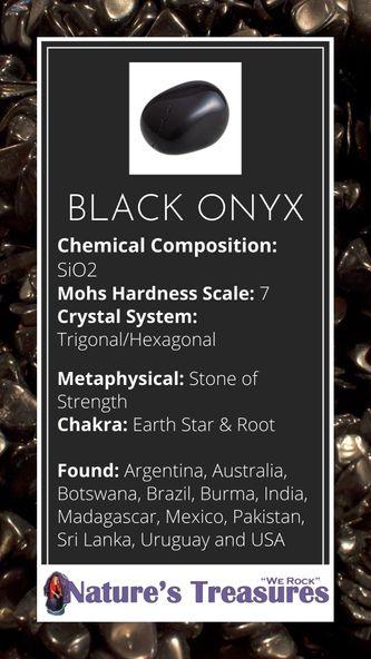Black Onyx Information