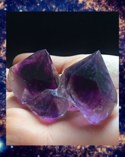 Sirius Amethyst Crystal Points