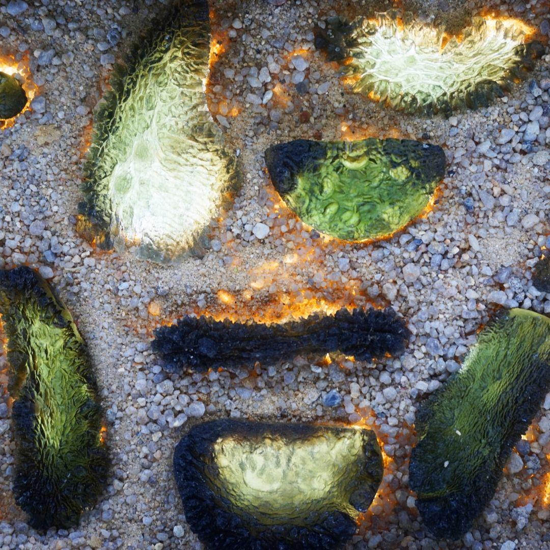 Natural Moldavite Shapes