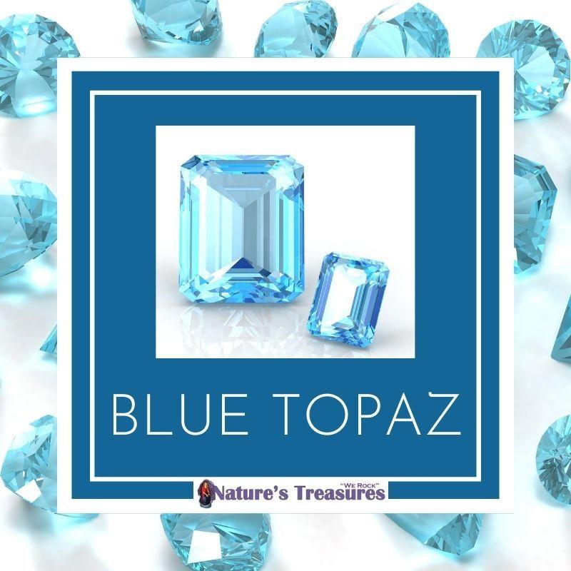 December Birthstone Blue Topaz