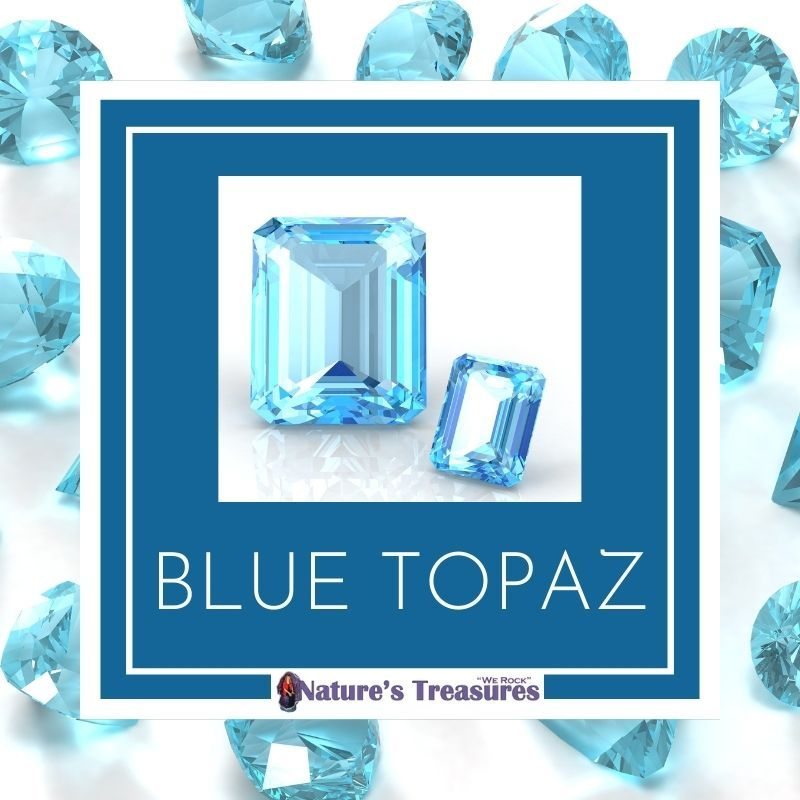 December Birthstone Blue Topaz