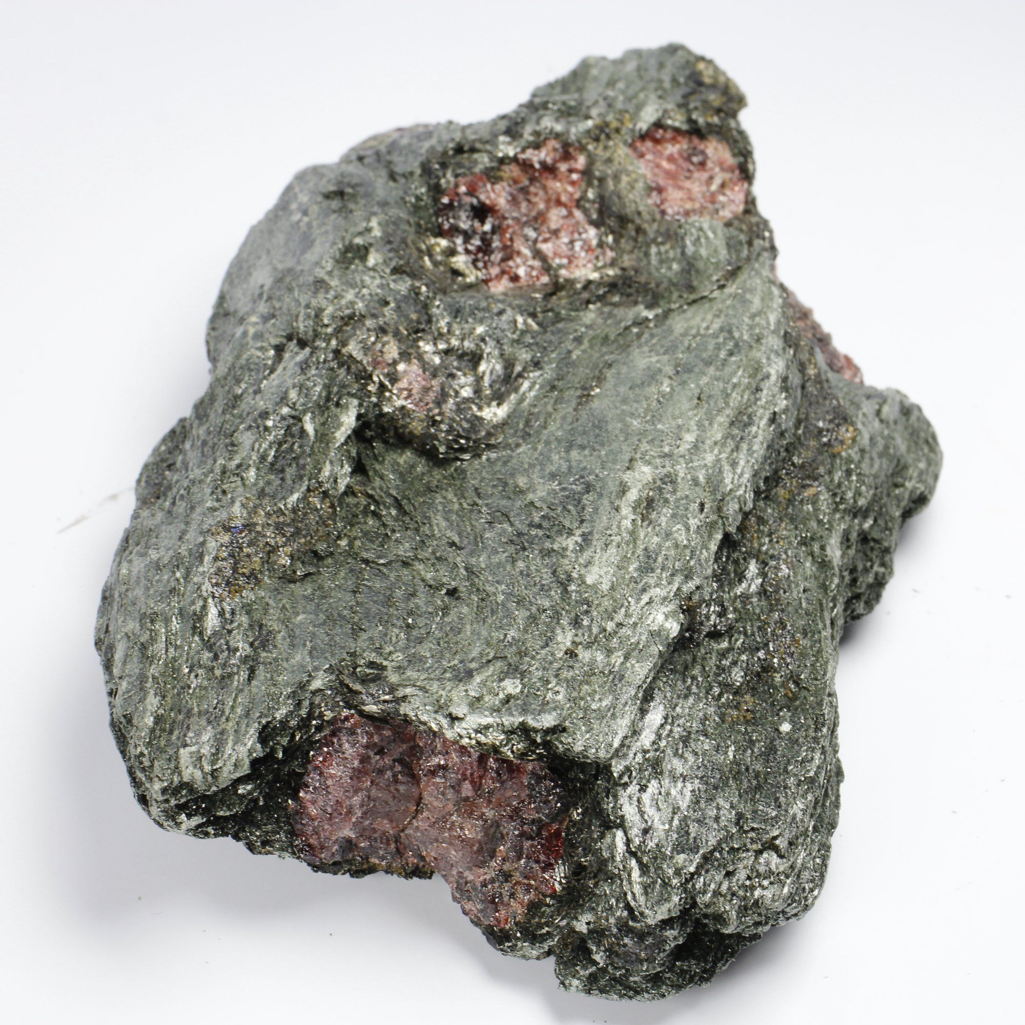 Ruby in Fuchsite Cluster