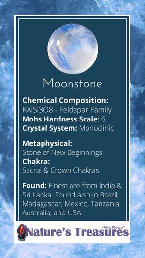 Moonstone Information Card