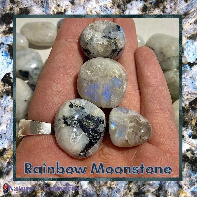 Rainbow Moonstone Stone of New Beginnings