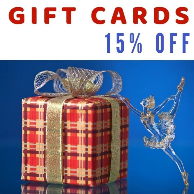 GIFT CARDS 15% OFF