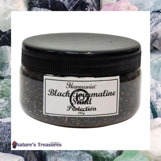 Black Tourmaline Sand