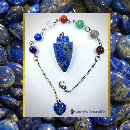 Lapis Lazuli Chakra Pendulum