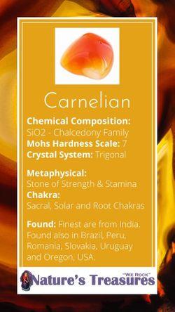 Carnelian Information