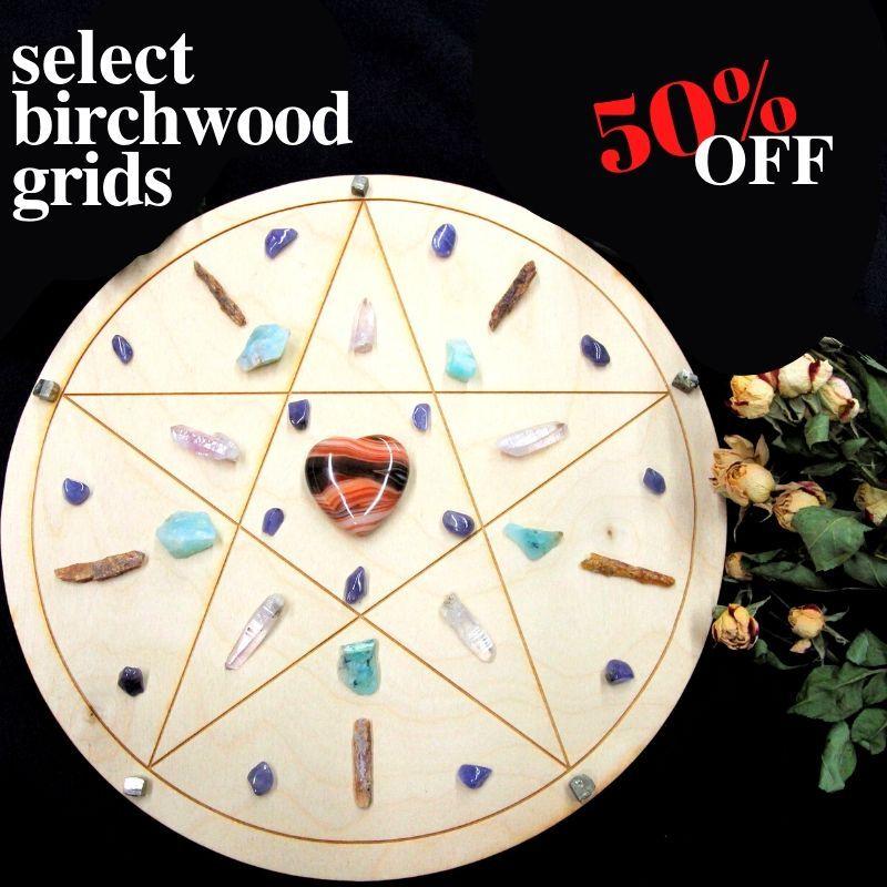 BIRCHWOOD GRIDS 50% OFF