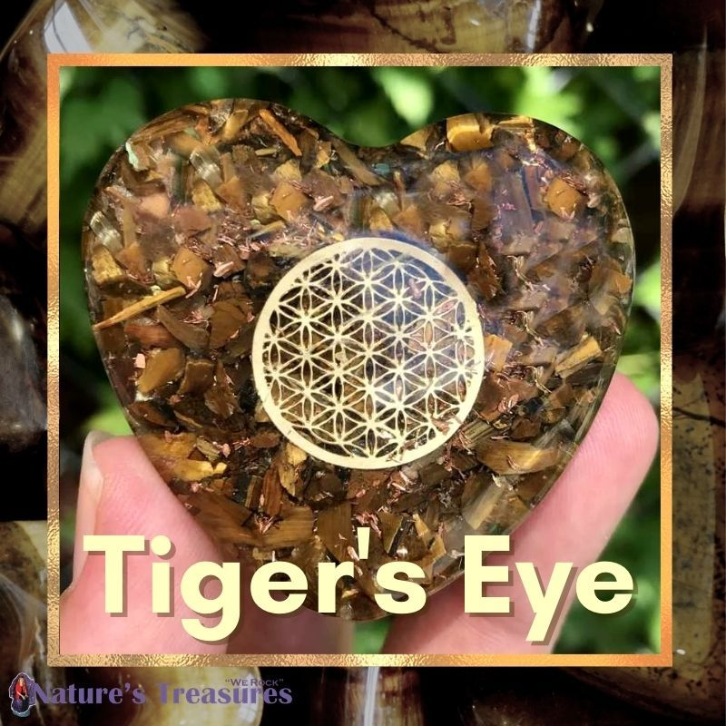 GOLDEN TIGER'S EYE: STONE OF POWER