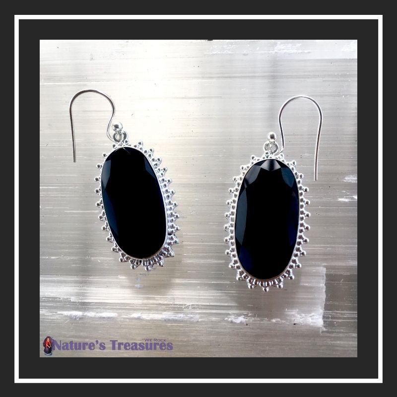Black Onyx January Birthstone Jewelry