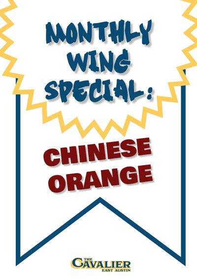 Monthly Wing Special