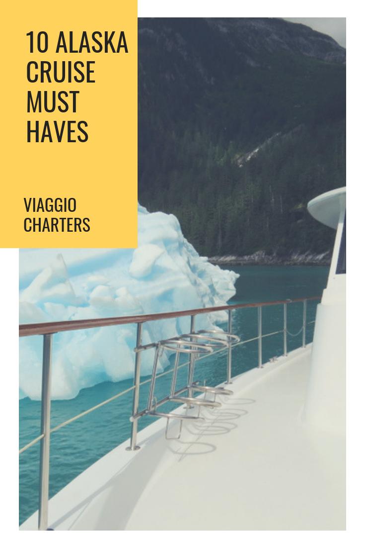 The 10 things your Alaskan cruise must have.  #alaska #yachtcharter #alaskacruise #yacht