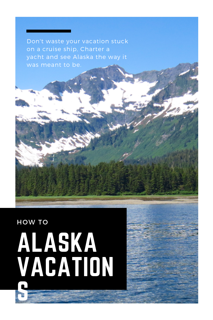 alaska yach charter vs alaksa cruise ship vacation #alaska #vacation #alaskavacation