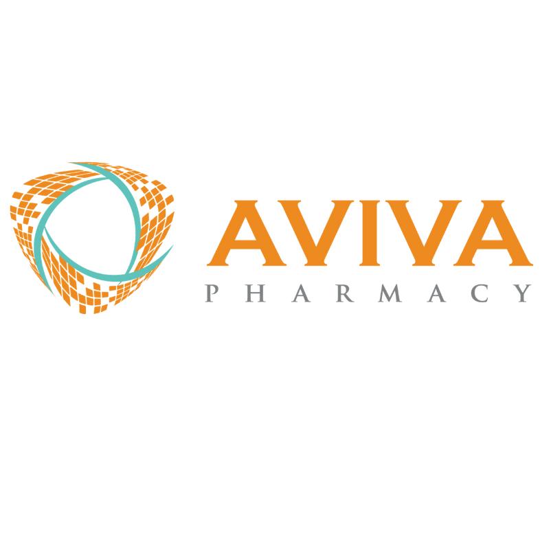 Aviva Logo Blue White Background