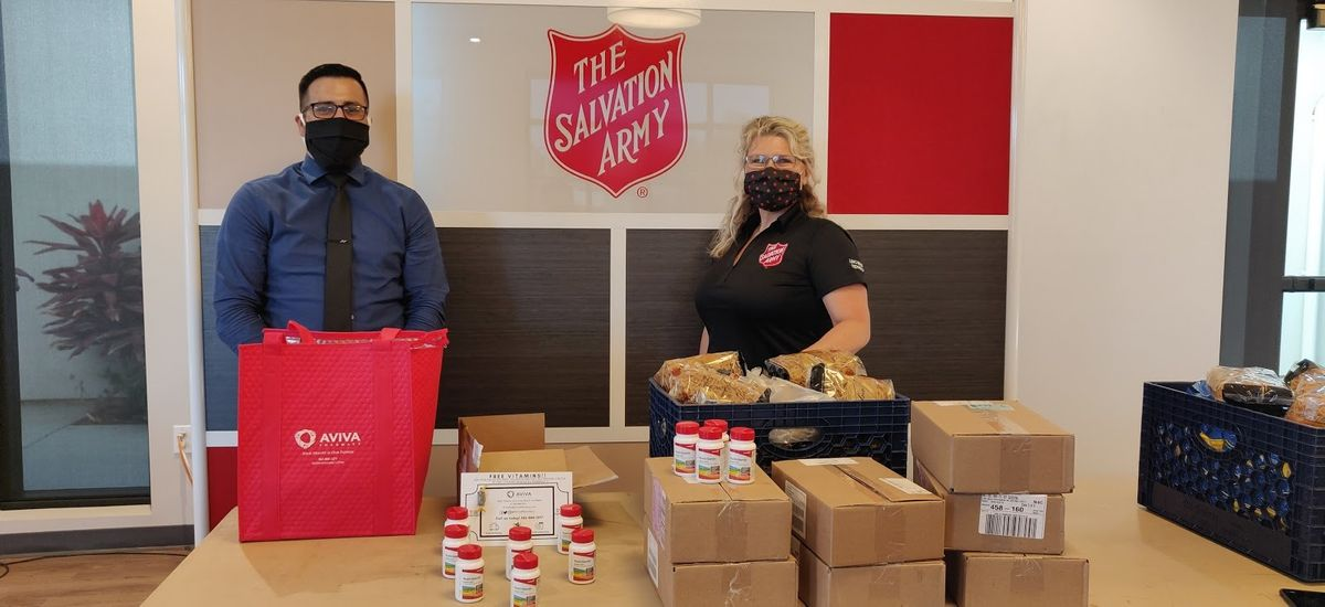Helping the Salvation Army