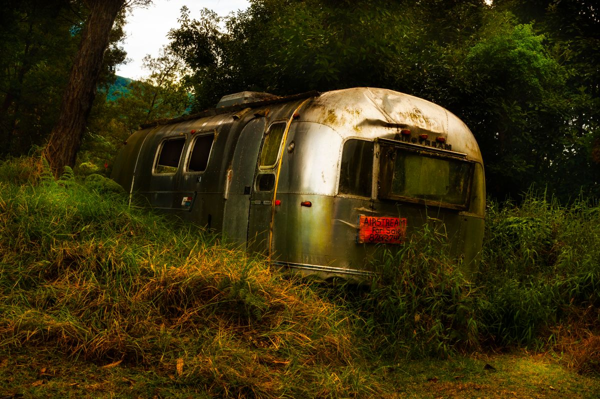 Airstream on Waipoli Road