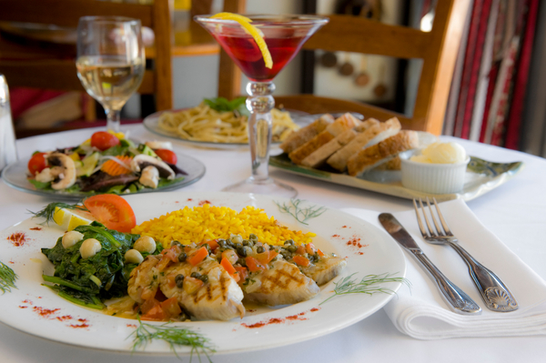Food photography from Maui Commercial Photographer Joe D'Alessandro. Brigit and Bernards Garden Cafe.