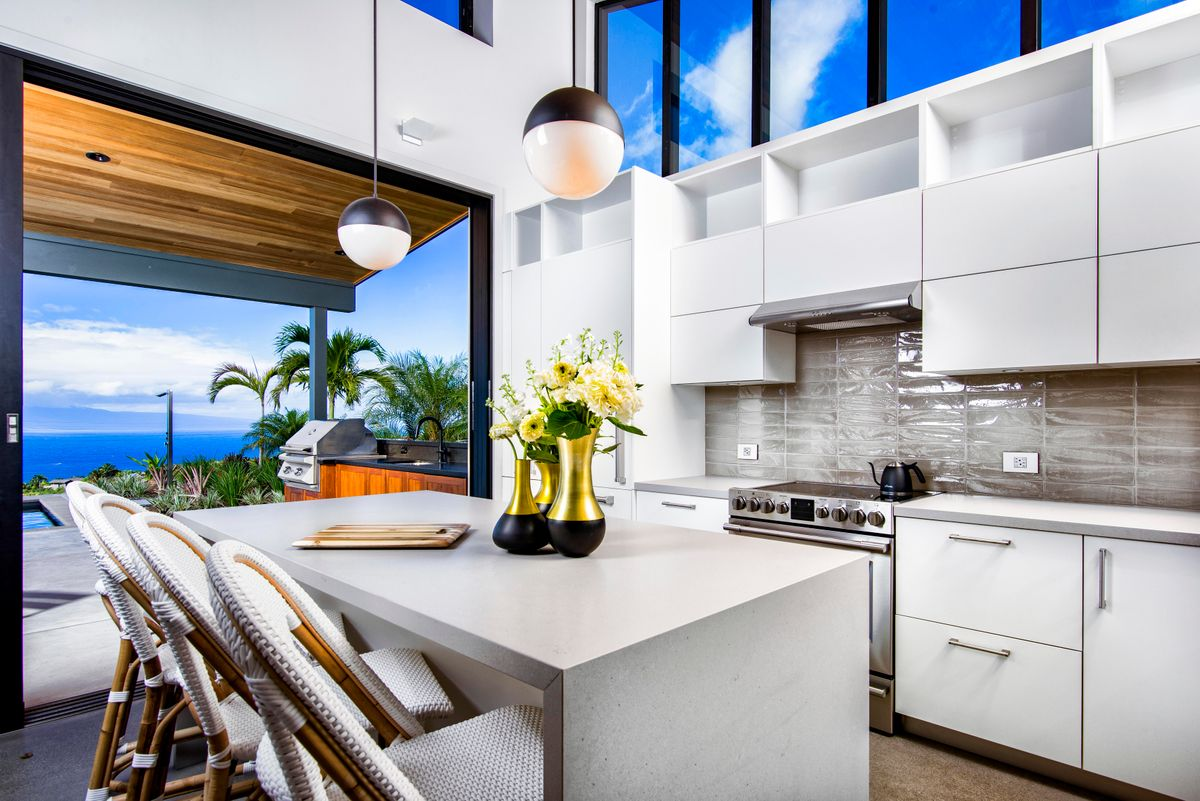 Luxury Maui Kitchen Design