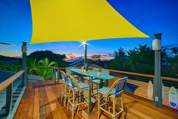 Sunset shoot at a Maui Vacation Rental