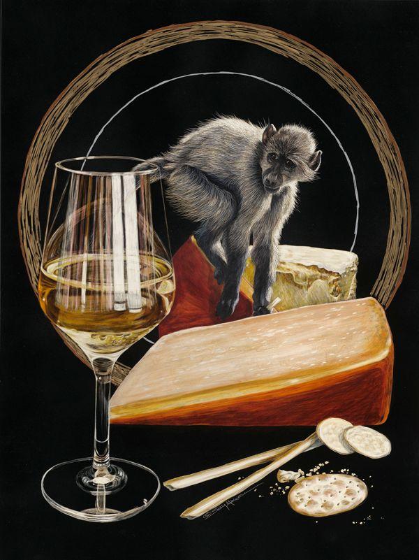 Chardonnay Monkey 300 dpi sally maxwell.jpg