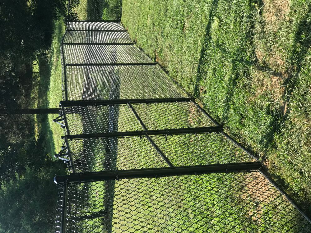 New 6 ft tall fence added July 2021