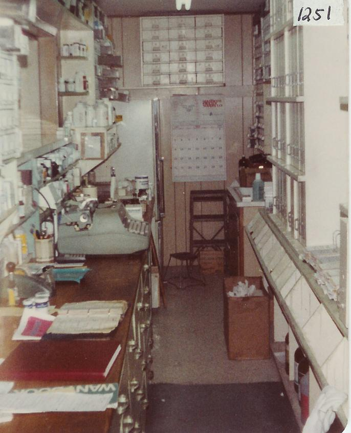 Springfield Drug Store 1982